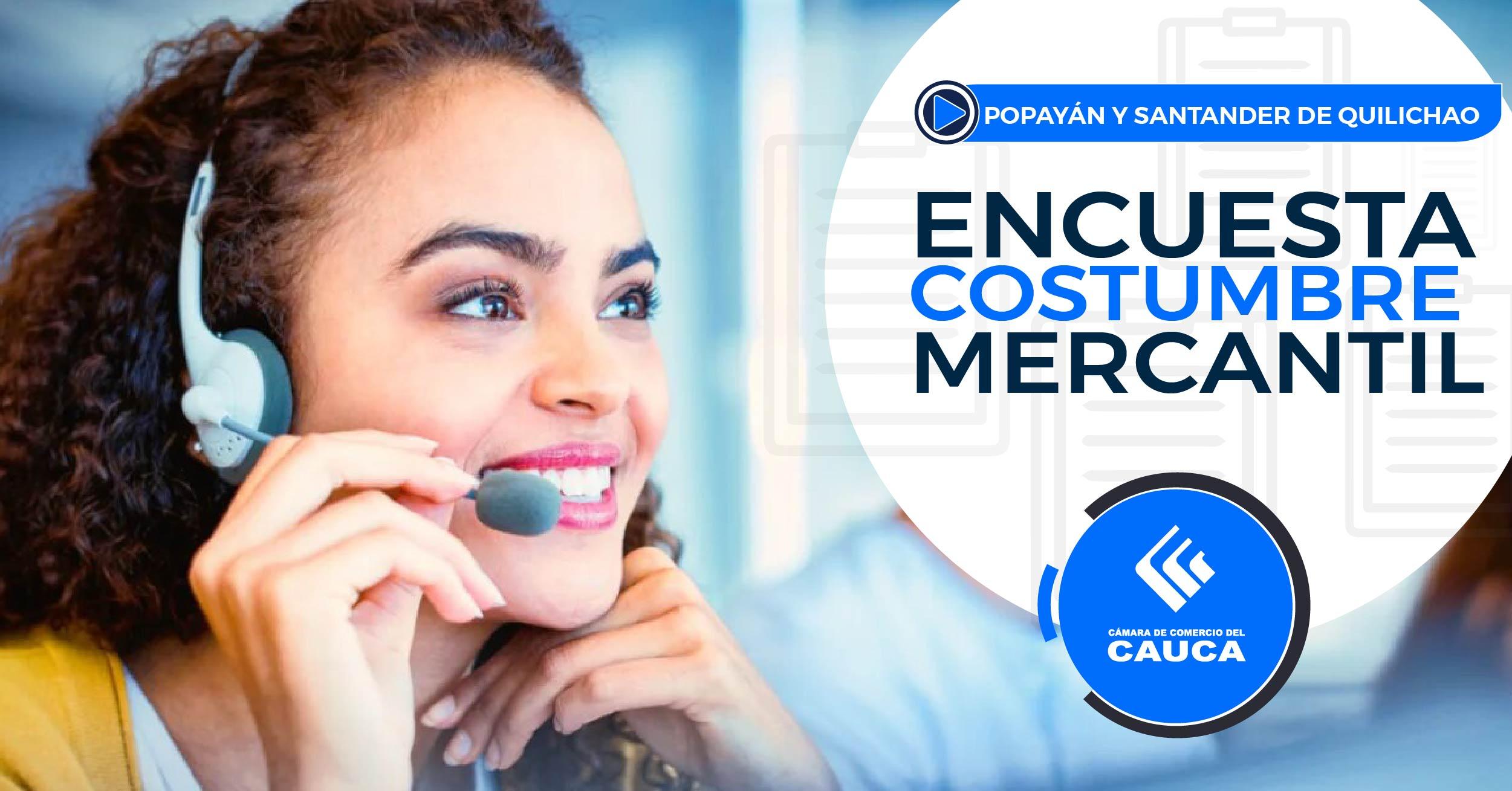 Encuesta: Costumbre Mercantil