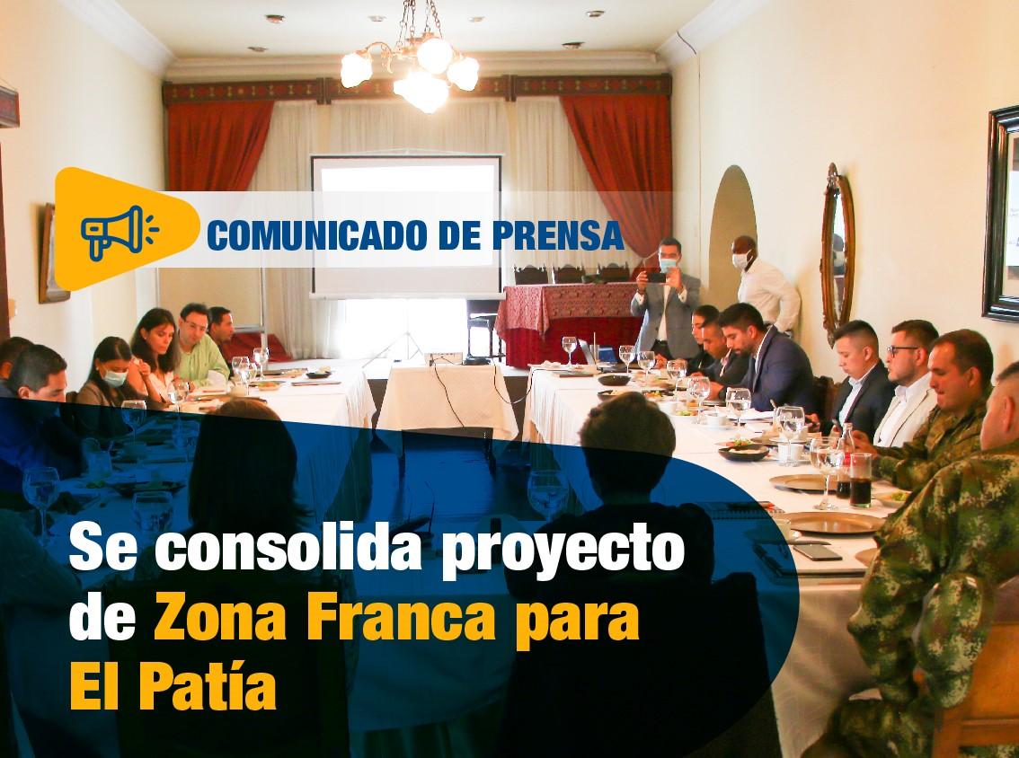 Se consolida proyecto de Zona Franca para El Patía